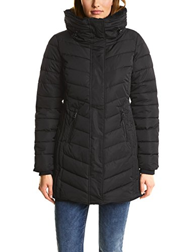 Street One Damen Mantel 100250, Schwarz (Black 10001), 40