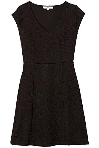 Amazon-Marke: find. Damen Ausgestelltes Wickelkleid aus Spitze