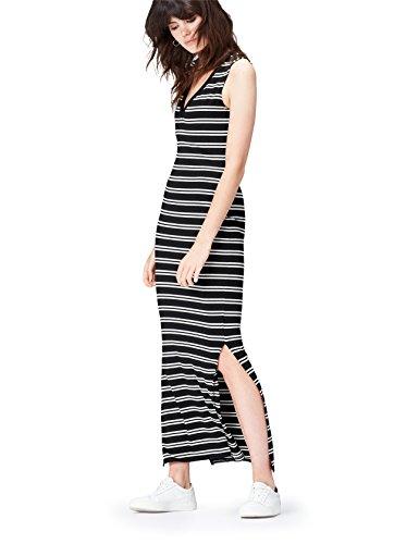 Amazon-Marke: find. Damen Maxi Jersey-Kleid