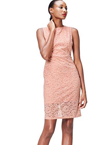 Amazon-Marke: find. Damen Mini-Schlauchkleid aus Spitze