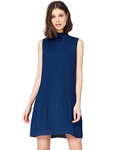 Amazon-Marke: find. Damen Plissee Kleid