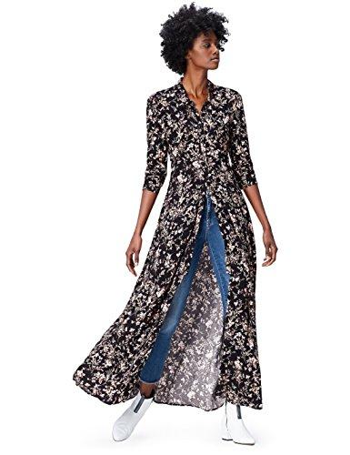 Amazon-Marke: find. Damen Schulterfreies Maxi-Kleid