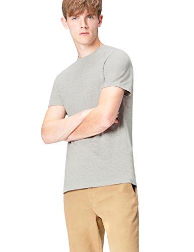 FIND T-Shirt Herren Paris-Print und Runder Ausschnitt