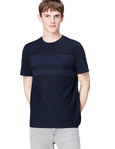 FIND T-Shirt Herren mit Streifen und Lockerer Passform