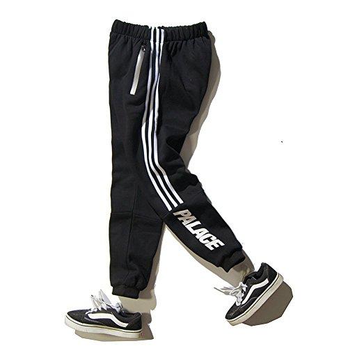 Minetom Herren Casual Hoodie Trousers Jungen Hippie Jogginghose Freizeit Skinny Hose mit Aufdruck Pullover Hip Hop Streetwear Sweatshirt