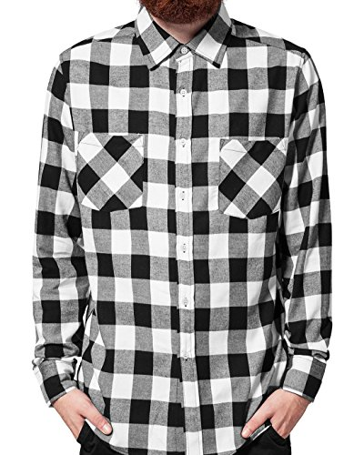 Urban Classics Regular Fit Herren Freizeit Hemd