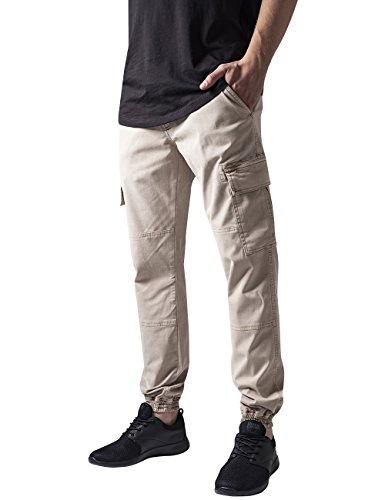 Urban Classics Herren Hose Washed Cargo Twill Jogging Pants