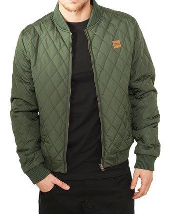 Urban Classics Herren Jacke Diamond Quilt Nylon Jacket