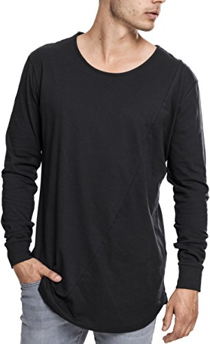 Urban Classics Herren Shaped Fashion Long Sleeve Tee