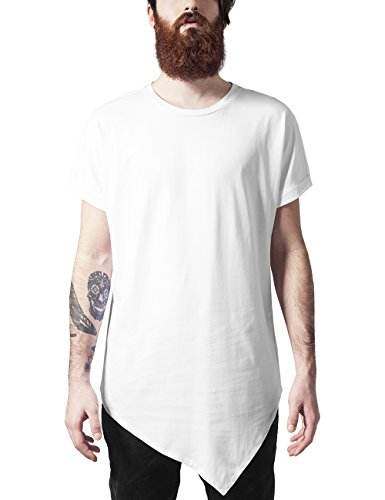 Urban Classics Herren Asymetric Long Tee T-Shirt