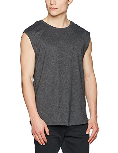 Urban Classics TB1562 Herren T-Shirt Open Edge Sleeveless Tee
