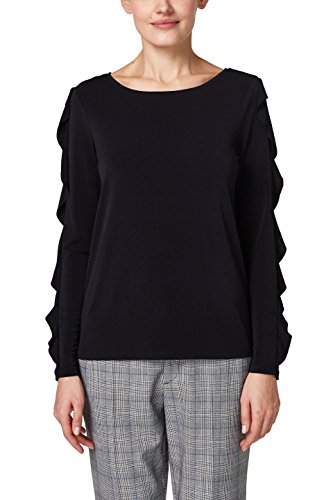 ESPRIT Collection Damen Slim Fit Langarmshirt