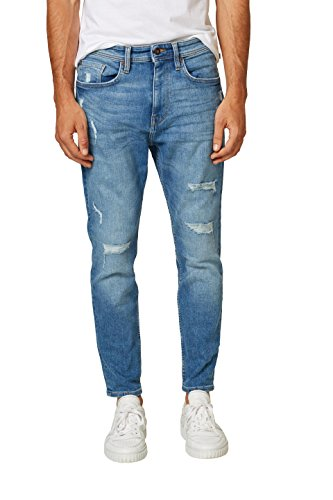 edc by ESPRIT Herren Tapered Fit Jeans