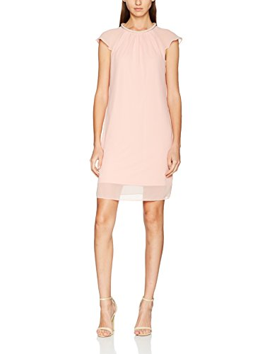 ESPRIT Collection Damen Kleid 077EO1E014, Rosa (Old Pink 680), 40