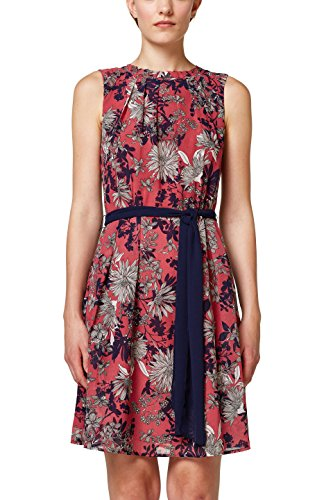 ESPRIT Collection Damen Kleid 088EO1E019, Rosa (Blush 665), 34