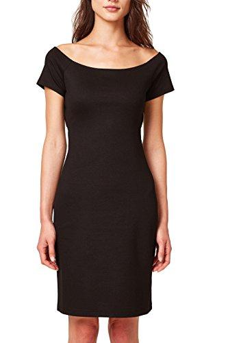 ESPRIT Damen Kleid 078EE1E003, Schwarz (Black 001), X-Large