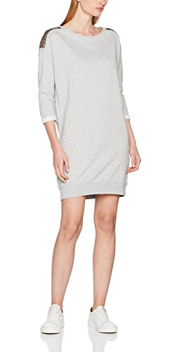 ESPRIT Damen Kleid 097EE1E022, Grau (Light Grey 5 044), Medium