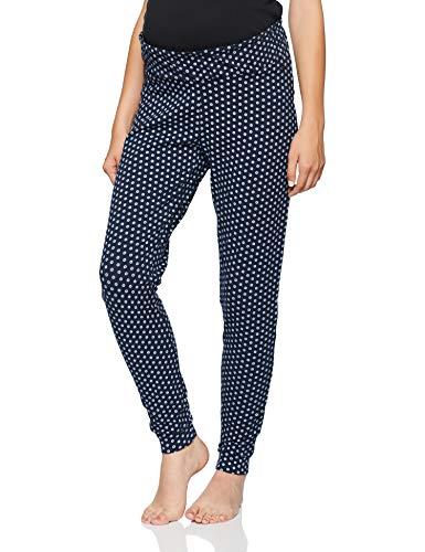 ESPRIT Maternity Damen Pants Jersey Utb AOP Umstandsschlafanzughose
