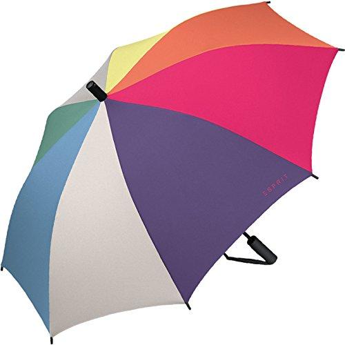 Esprit Regenschirm Umhängeschirm Slinger Automatik Multicolor Combination Frühjahr 2018