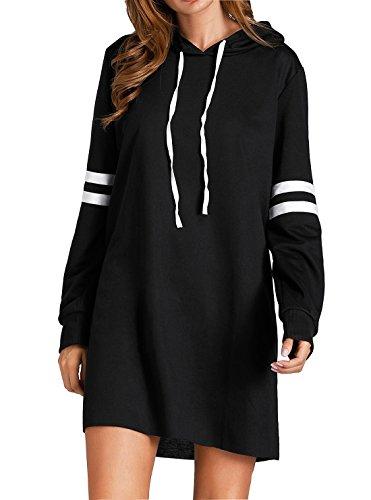Flying Rabbit Damen Hoodie Damen Langarm Sweatshirt Damen Langarm Hoodies Casual Herbst Kleid