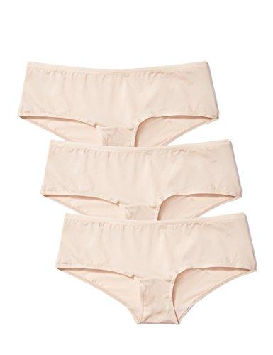 Amazon-Marke: Iris & Lilly Damen Body Smooth Hipster, 3er Pack
