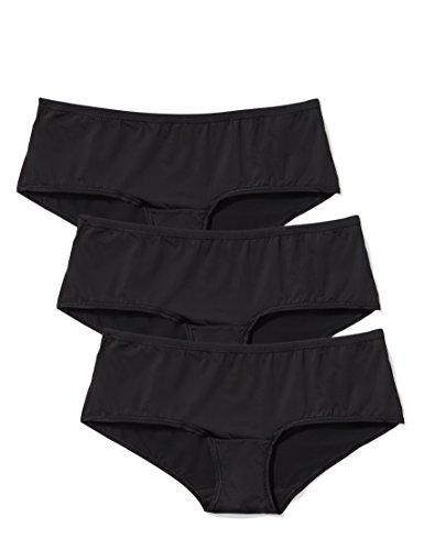 Amazon-Marke: Iris & Lilly Hipster Damen flach und tiefsitzend 3er-Pack