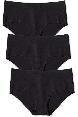 Amazon-Marke: Iris & Lilly Hipster Damen nahtlos und ultraflach, 3er Pack