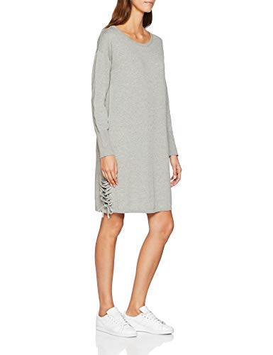 edc by ESPRIT Damen Kleid 098CC1E004, Grau (Light Grey 5 044), X-Large