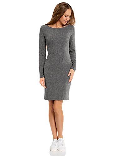 oodji Ultra Damen Enges Kleid Basic