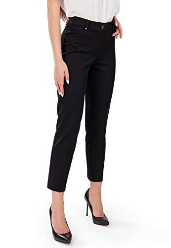 FEMME Premium Damen-Hose Perfekt für Herbst Winter Frühling Büro und Freizeit passt zu Bluse klassischen Hemden und Blazer
