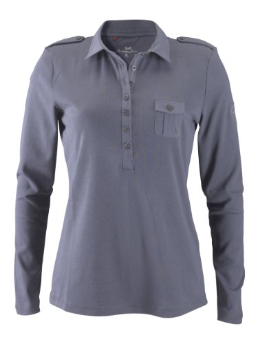 HIS Poloshirt 9050;cool dark grey Poloshirt m. Artwo M - 821015 - HIS-113-03-009