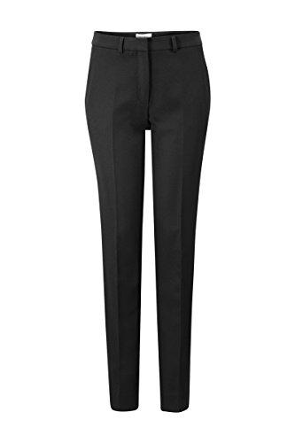 Promiss Damen Hosen Lang Schwarz oder Dunkelblau Tapered Fit Anzug