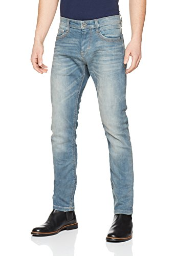 TOM TAILOR Herren Slim Jeans Troy_Thick_Thread