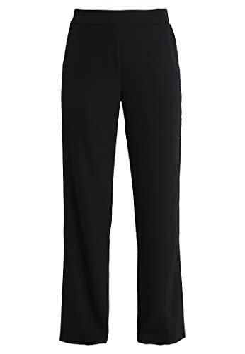 Anna Field Damenhose im Marlene-Stil - Hose elegant für Damen - High Waist Stoffhose weit - Marlenehose mit elastischem, hohem Bund