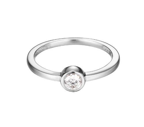 Esprit Damen-Ring 925 Sterling Silber ESRG92424A1