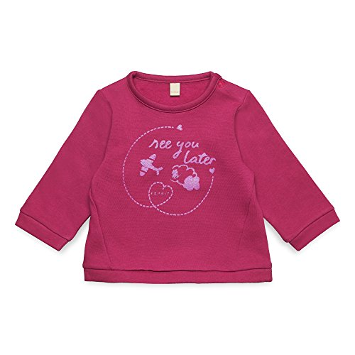 ESPRIT Sweatshirt mit Frottier-Buchstabe