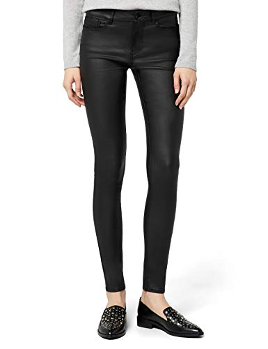 VERO MODA Damen Hose Vmseven NW Smooth Coated