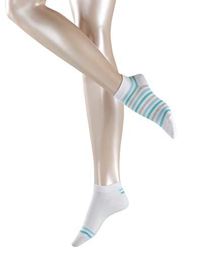 Esprit Sneaker Mixed Stripe 2-Pack Baumwolle Damen schwarz weiß viele weitere Farben verstärkte Sneakersocken mit Muster…