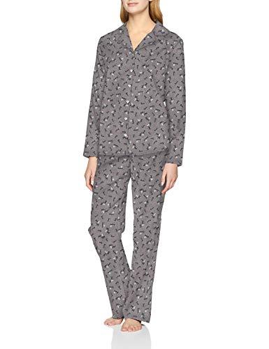 ESPRIT Damen Delphie Cas Nw Pyjama Zweiteiliger Schlafanzug