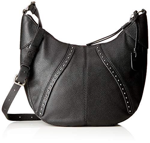 Esprit Accessoires Damen 108ea1o019 Schultertasche, Schwarz (Black), 7x30x30 cm