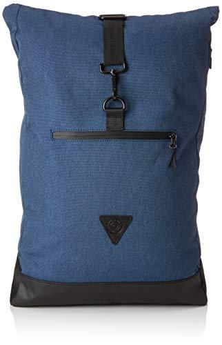 Esprit Accessoires Herren 088ea2o005 Rucksack, Blau (Navy), 14x50x32 cm