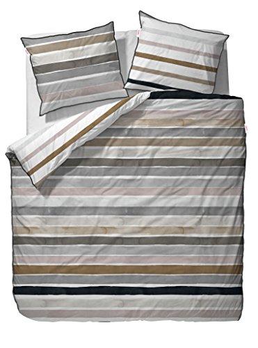 ESPRIT Wendebettwäsche Iva beige 1 Bettbezug 135 x 200 cm + 1 Kissenbezug 80 x 80 cm