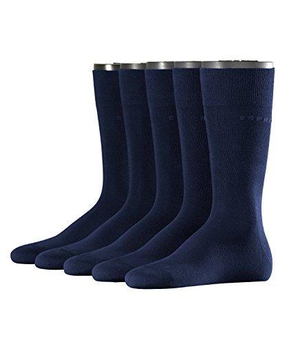 ESPRIT Herren einfarbige Socken Baumwolle Herrensocken, 5 DEN (5er Pack)