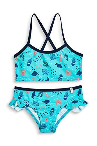 ESPRIT Mädchen Underwater Beach Mg Bustier + Brief Badebekleidungsset