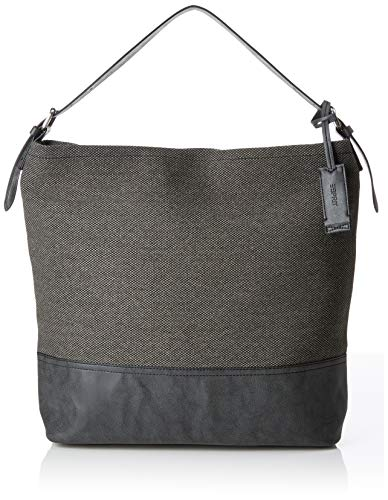 ESPRIT Hobo-Bag aus Baumwoll-Gewebe