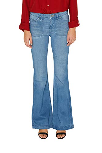 edc by ESPRIT Damen Flared Jeans