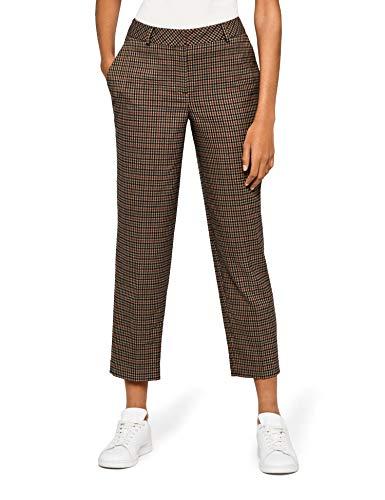 Amazon-Marke: find. Damen Hose Check Suit Trouser