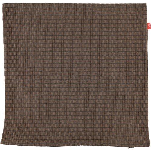 Esprit Home 50015-022-38-38 Kissenhlle Beat Gre 38 x 38 cm, schokolade / braun