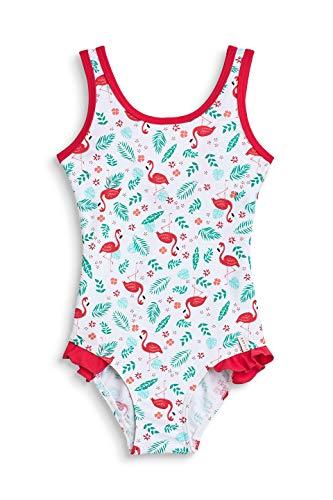 ESPRIT Mädchen Flamingo Beach Mg Swimsuit Badeanzug