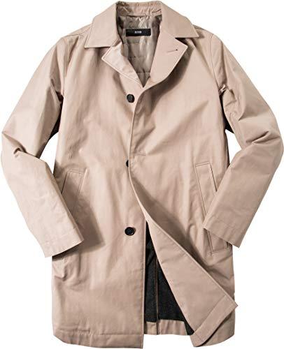 BOSS Hugo Herren Mantel Warme Jacke Uni & Uninah, Größe: 52, Farbe: Beige
